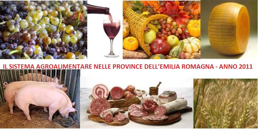 Il sistema agroalimentare nelle province dell emilia for Camera di commercio della romagna
