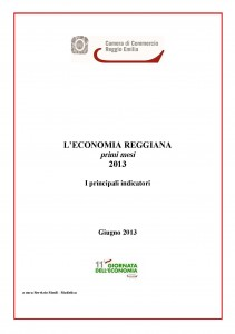 Economia reggiana giugno 2013