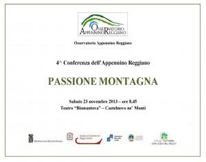 4^ Conferenza dell'Appennino 23 novembre 2013