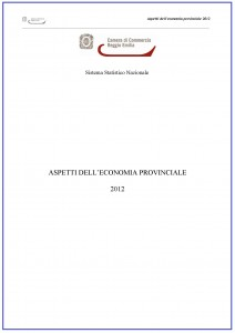 Aspetti dell'economia-provinciale - Anno 2012