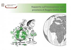 Copertina 3° Rapporto Innovazione Reggio Emilia