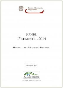 Panel Osservatorio Appennino Reggiano 1° semestre 2014