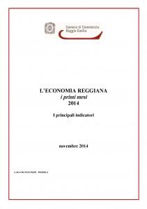 Economia reggiana novembre 2014