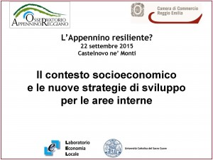 Appennino resiliente