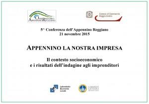 5a Conferenza Appennino Reggiano